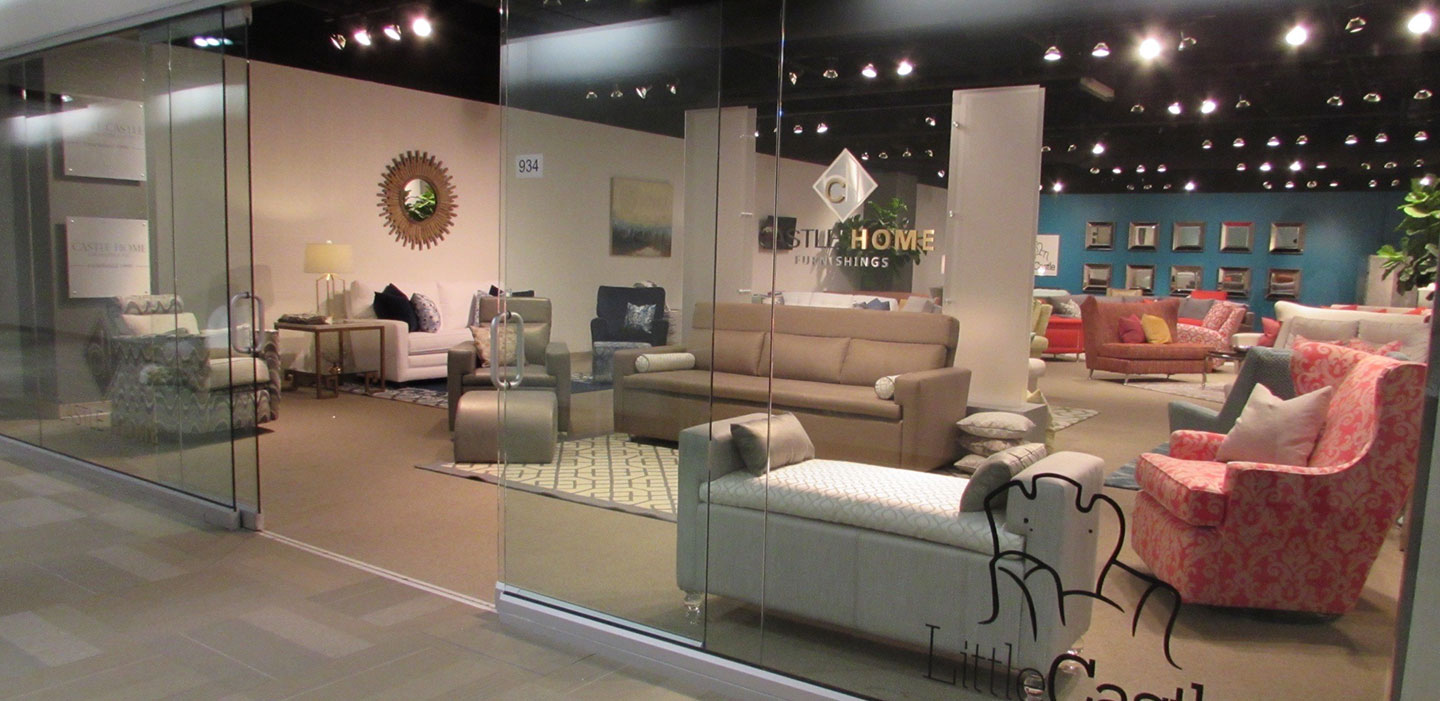 commercial interior design showroom