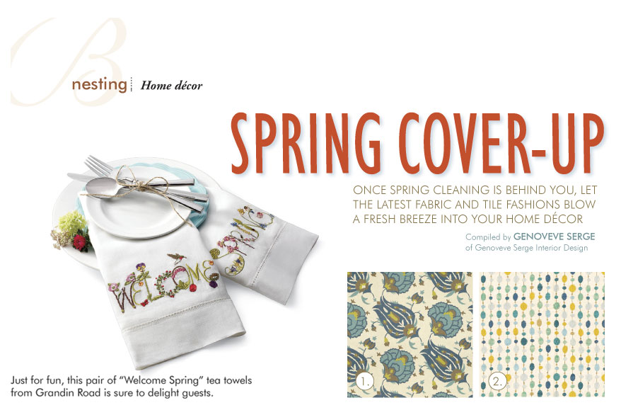 spring cover up article